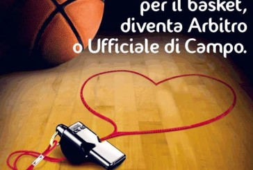 Basket, aperte le iscrizioni al corso per arbitri