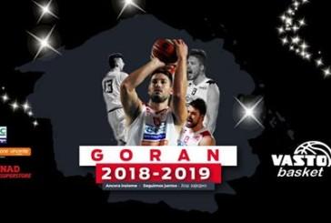 Goran Oluic vestirà la canotta biancorossa anche nella prossima stagione