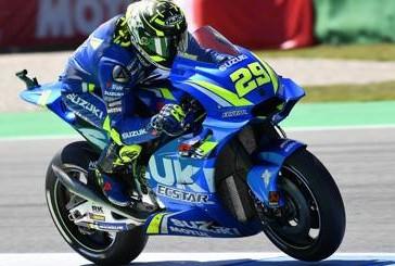 MotoGP Libere1 Sachsenring: davanti Iannone; Marquez 2°, Rossi buon 3°