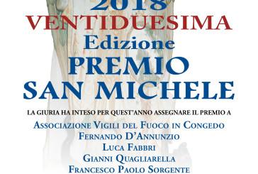 La 22esima edizione del Premio San Michele 2018