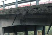 Lavori a rilento a San Nicola e il ponte resta a pezzi