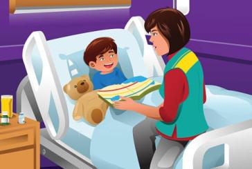 Libri di racconti e fiabe donati alla Clinica pediatrica di Chieti