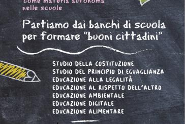 San Salvo sostiene il progetto di legge per l'educazione alla cittadinanza