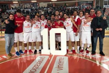 Vasto Basket, con il Campli arriva la decima vittoria consecutiva