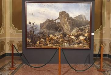 """A Palazzo d'Avalos in mostra il quadro """"Dopo il diluvio"""" di Filippo Palizzi"""