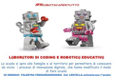 FUTUR@ 2019: #Roboticapertutti
