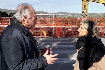 Proseguono i lavori per la nuova rotatoria in via di Palmoli – corso Garibaldi