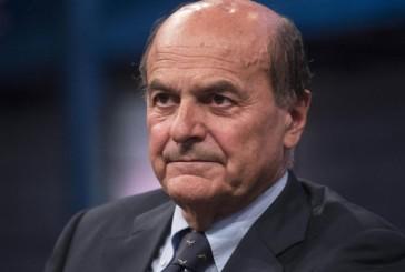 Pierluigi Bersani con Massimo Paolucci a Vasto