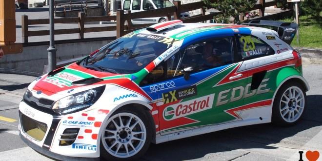 Gigi Galli al via per il World Rallycross in Latvia