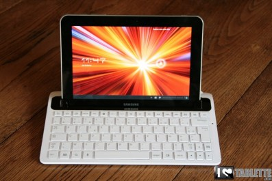Dock clavier Bluetooth pour Samsung Galaxy Tab 8.9 [Test] 1