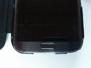 Test housse en cuir de protection Norêve pour Samsung Galaxy Note 2 9