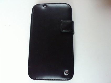 Test housse en cuir de protection Norêve pour Samsung Galaxy Note 2 20