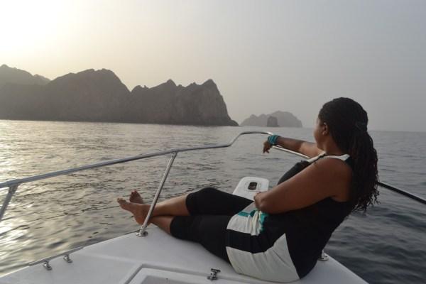 Serenity on the seas.
