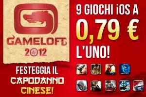 Gameloft festeggia il capodanno cinese e sconta 9 giochi iOS a 79 centesimi