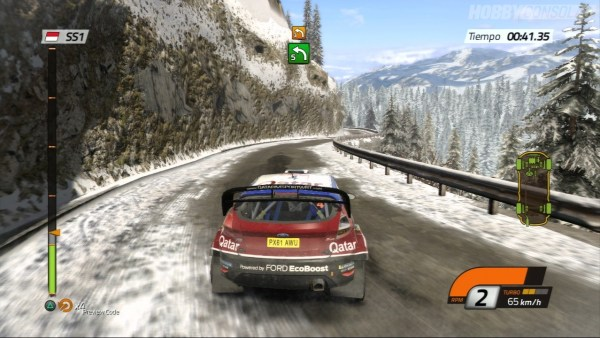 WRC 4 in game