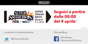 Super Smash Bros protagonista del prossimo Nintendo Direct