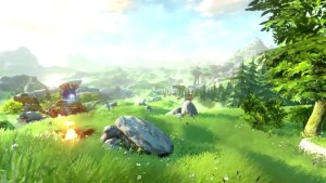 The Legend of Zelda Wii U, la demo mostrata all'E3 era in game