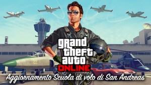 Grand Theft Auto V, trailer sull'aggiornamento Scuola di volo di San Andreas per GTA Online