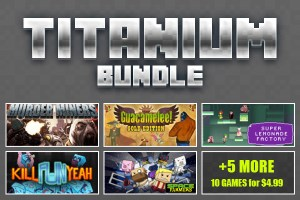 Disponibile il Titanium Bundle con Guacamelee! Gold Edition, ed altri 9 titoli