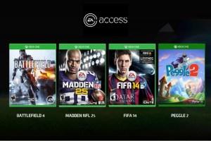 EA Access è disponibile su Xbox One