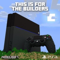 Minecraft, l'edizione PS4 è pronta per il download con l'upgrade PS3