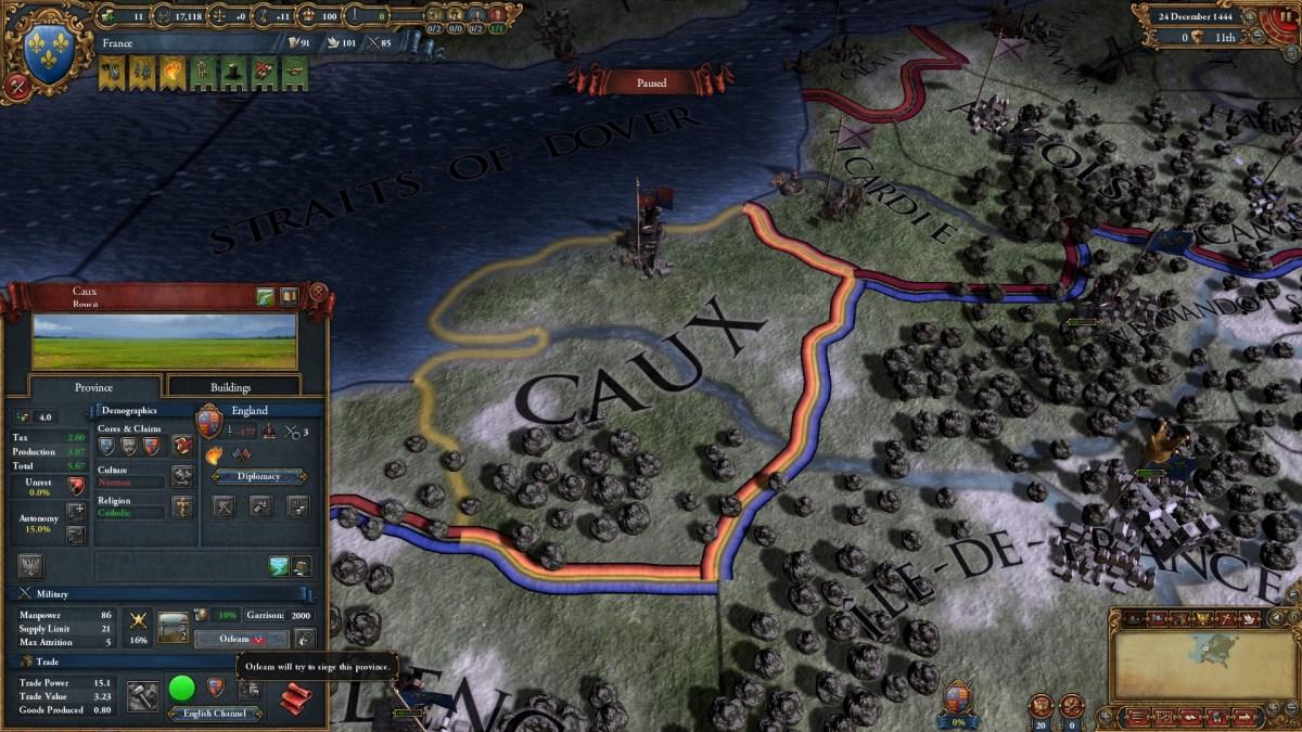 Europa Universalis IV, l'espansione Art of War è disponibile, trailer di lancio e dettagli