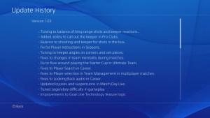 Fifa 15, c'è la patch 1.03 per la versione PlayStation 4
