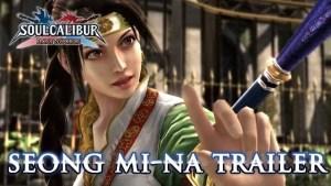 Soul Calibur: Lost Swords, un trailer per Seong Mi-na