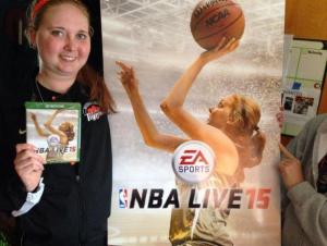 NBA Live 15, EA Sports dedica copertina speciale a Lauren Hill