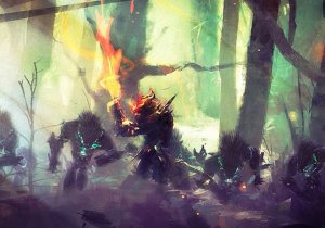 Guild Wars 2, trailer d'annuncio e storia di Heart at Thorns