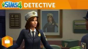 The Sims 4, il detective protagonista di questo video su Al Lavoro