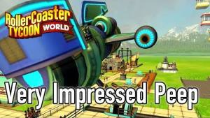 Primo video con gameplay per RollerCoaster Tycoon World