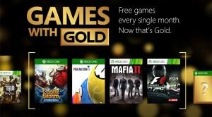 Xbox Live, ecco i titoli Games With Gold di maggio