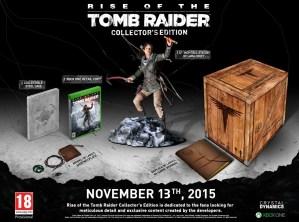 Rise of The Tomb Raider, annunciata la Collector's Edition per Xbox One