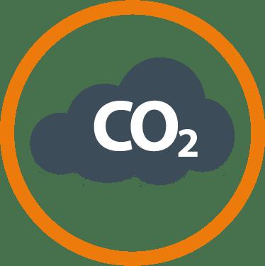 nube de CO2
