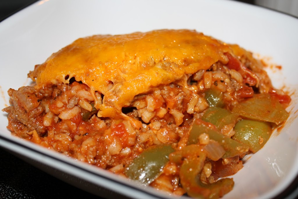 Gluten Free Stuffed Peppers Casserole