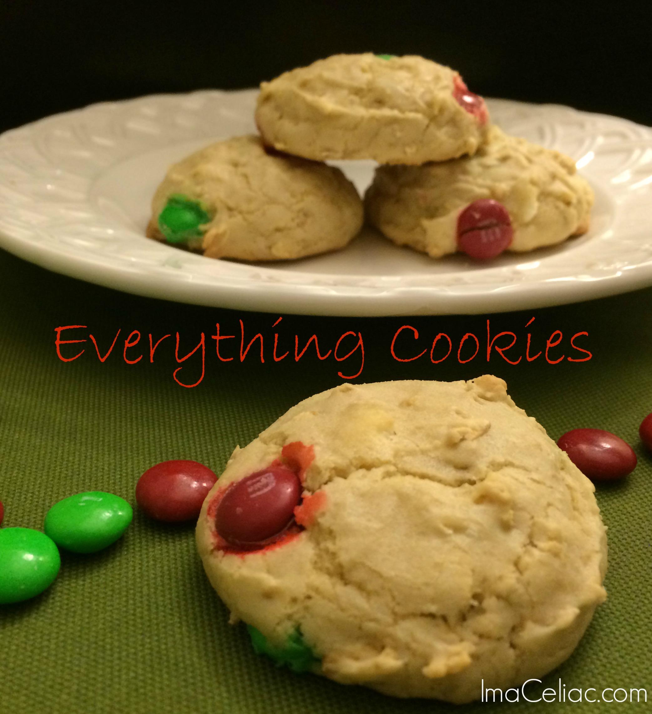 Everything Cookies GF