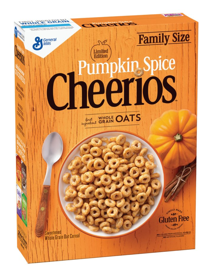 Pumpkin Spice Cheerios are Coming