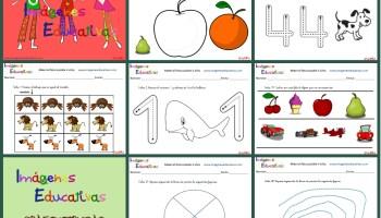 Cuadernillo de 40 actividades para 4 años, Educación Preescolar