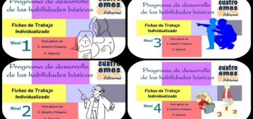 Programa de Desarrollo de Habilidades Básicas. Cuadernillo de trabajo Collage Portada