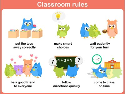 Normas de clase 4 imagenes educativas for 10 reglas del salon de clases en ingles