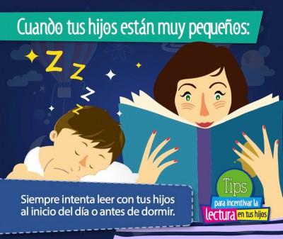 TIPS para incentivar la lectura en tus hijos e hijas (3)