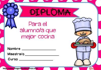 Diplomas FIN DE CURSO para premiar actitud y las capacidades (13)