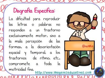 TIPOS DE DISGRAFÍA (4)