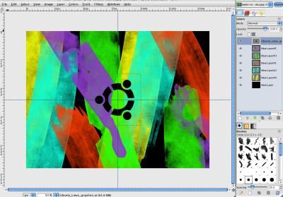 How to make a Water-Colour Ubuntu Wallpaper in GIMP | GIMP Tutorials Blog