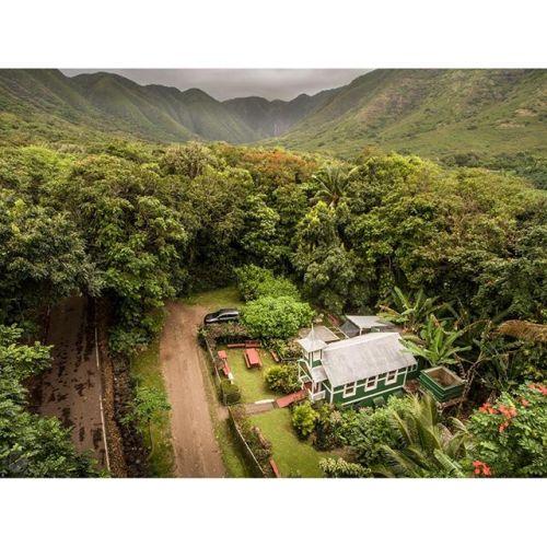 Sacred space in a sacred valley. Jerusalem Hou Church, Molokai, Hawaii. @natgeocreative