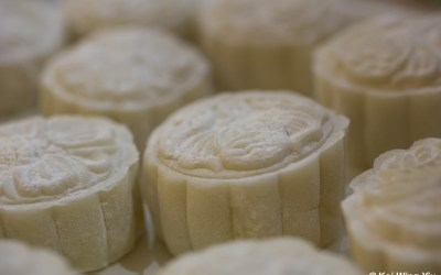 The moon cakes