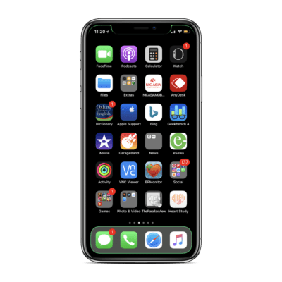 How to Customize iPhone X notch and dock without Jailbreak on iOS 11