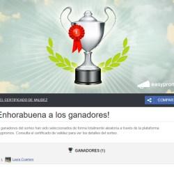 Ganadores Sorteo Teruel FB