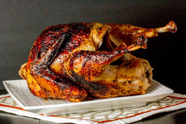 Brined & Grilled Turkey